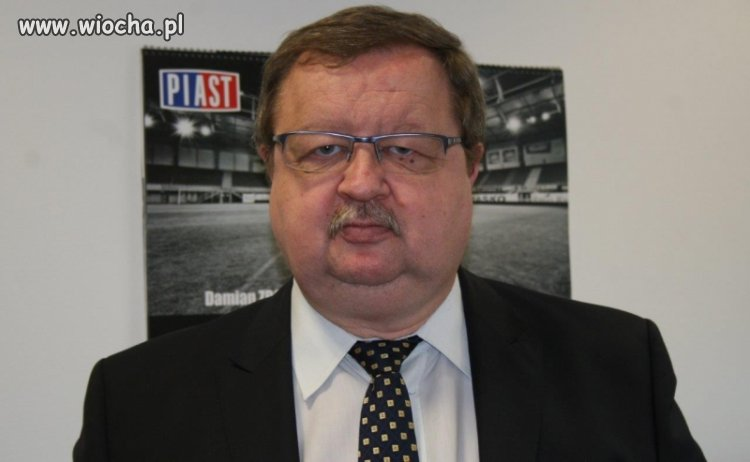 Zdzisław Kręcina nowym dyrektorem Piasta Gliwice