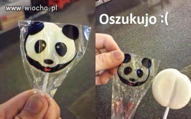 Miała być panda a jest dupa