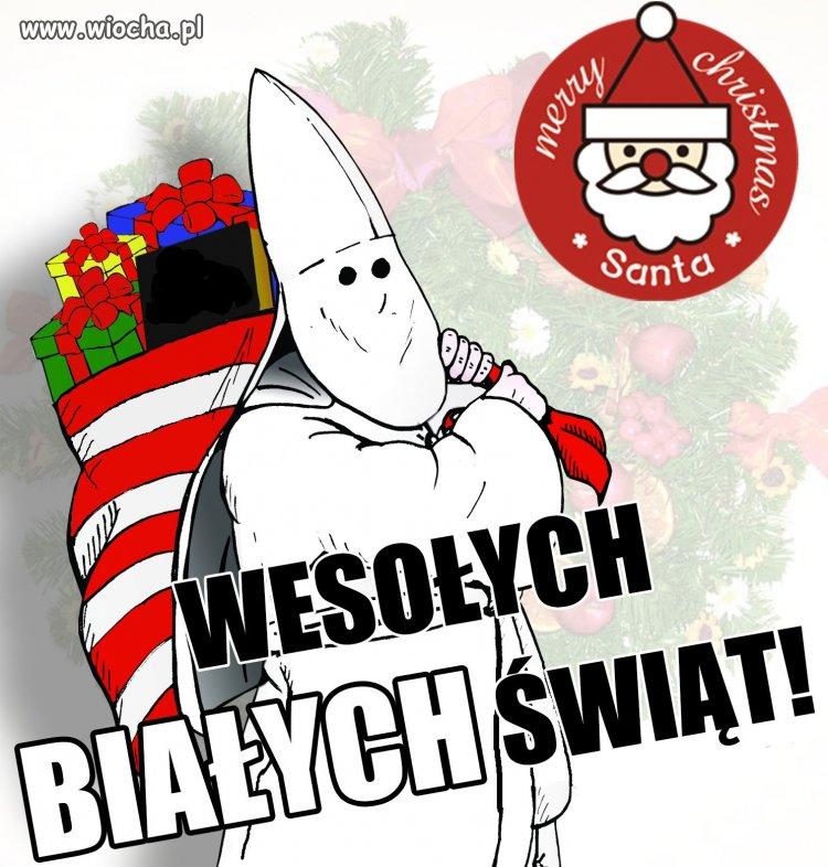 Wesołych białych świąt.