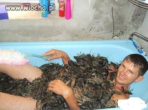 Świetna kąpiel