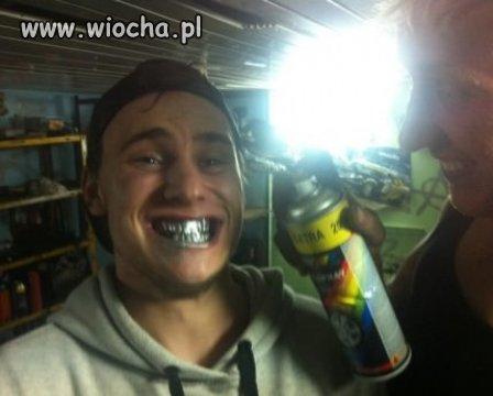 Srebrne zęby w 5 minut