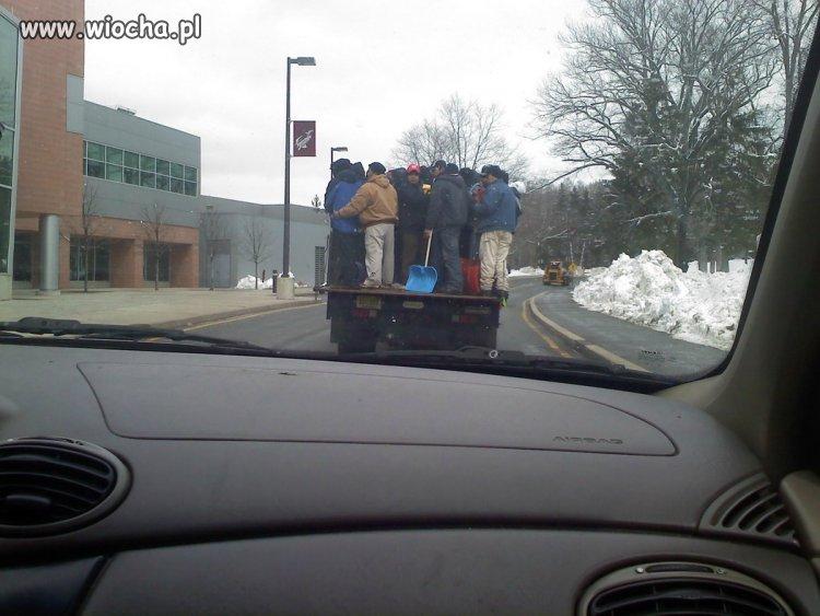 """""""Zapewniamy przewóz na miejsce pracy"""""""