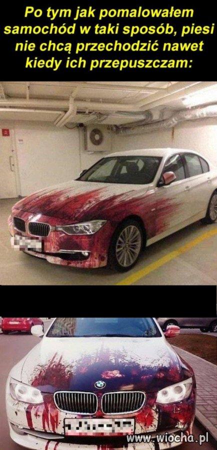 Pomalowałem auto