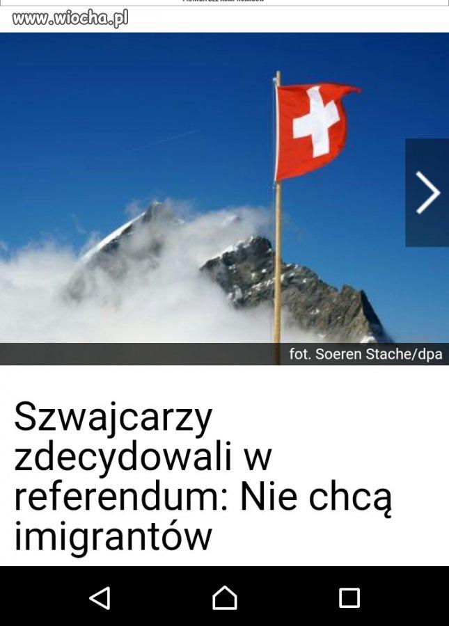 Brawo Szwajcaria!