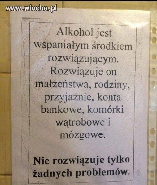 Ale i tak Polacy wolą chlać wódę