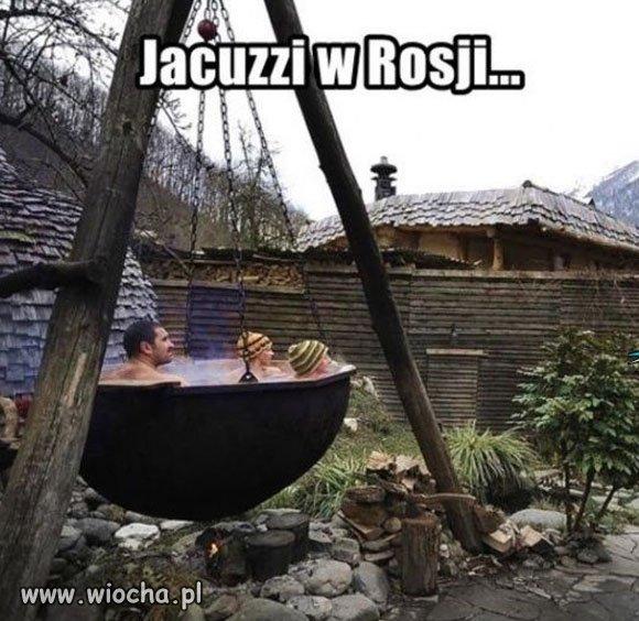 Jacuzzi w Rosji