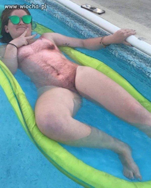 Antygwałtowy strój kąpielowy