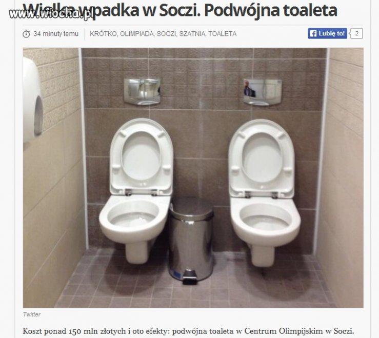 Wielka wpadka w Soczi...