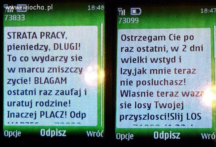 Chore SMSy w sieci Orange