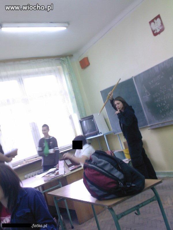 Na lekcji matematyki