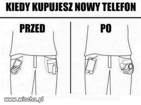 Nowy telefon