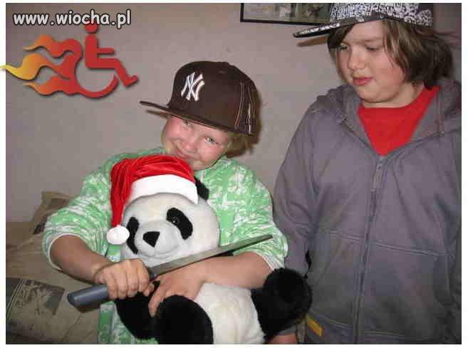 Zabijanie pluszowej pandy