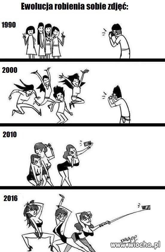Ewolucja robienia zdjęć