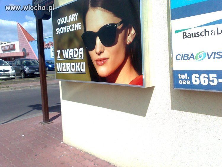 Okulary słoneczna z wadą wzroku