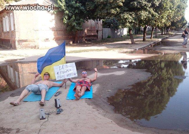 Ukraińskie wakacje nad zalewem