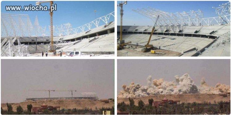 Islamiści wysadzili stadion olimpijski w Ramadi