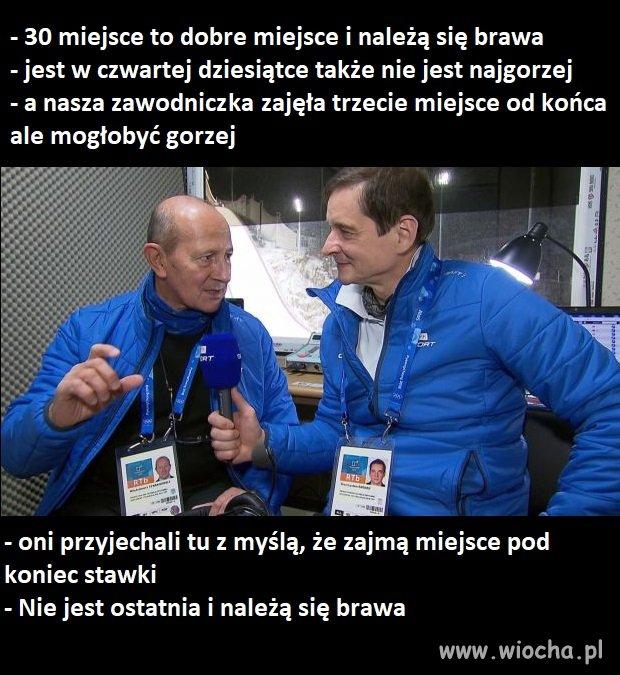 Komentatorzy sportowi TVP