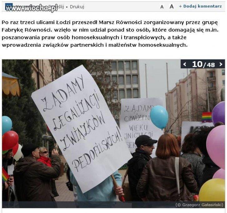 Parada Równości i Pedofilów