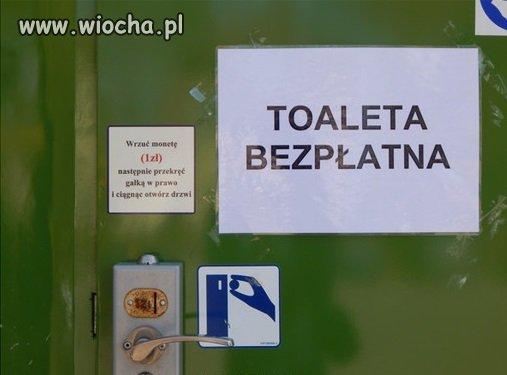 Taka toaleta tylko w Polsce