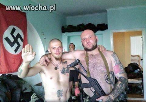 Policjanci z Ukrainy pozdrawiają