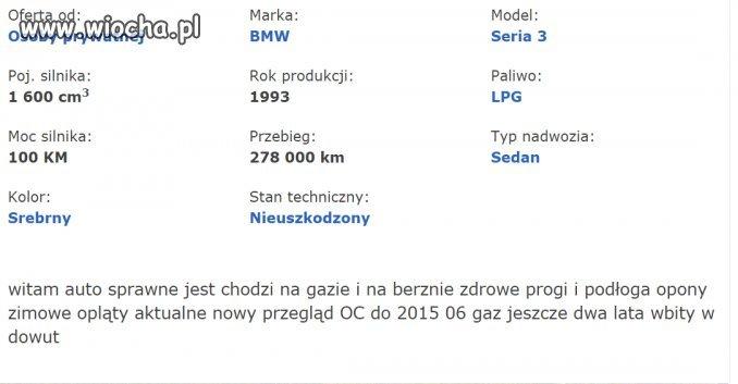 BMW Sprawne