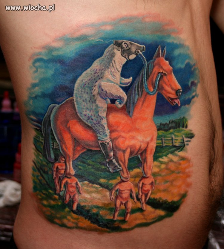 Tatuażyk z gatunku