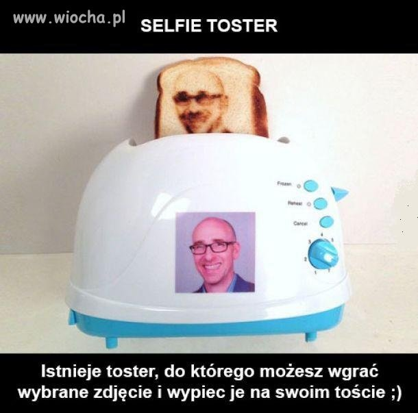 Selfie toster