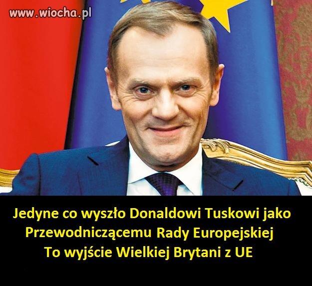 Jedyne co wysz�o Tuskowi
