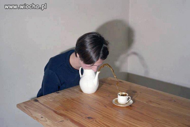 Herbat� nalewam sobie tak!