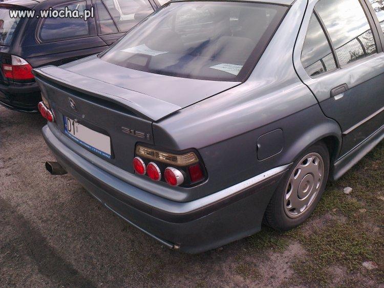 """Profesjonalny """"tjuning"""" BMW e36"""