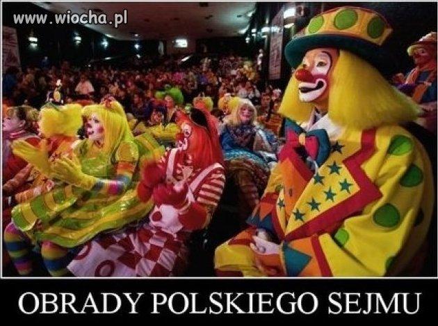 Obrady Polskiego sejmu!!!