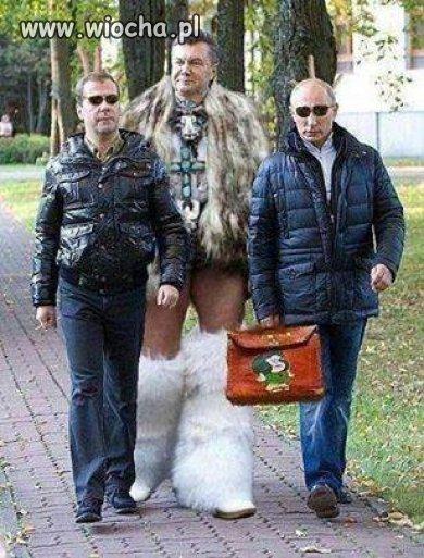 Janukowycz si� odnalaz�...