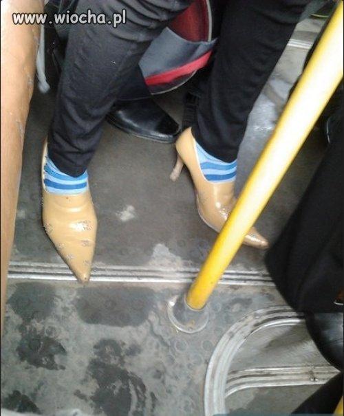 W jednym z autobusów MZK