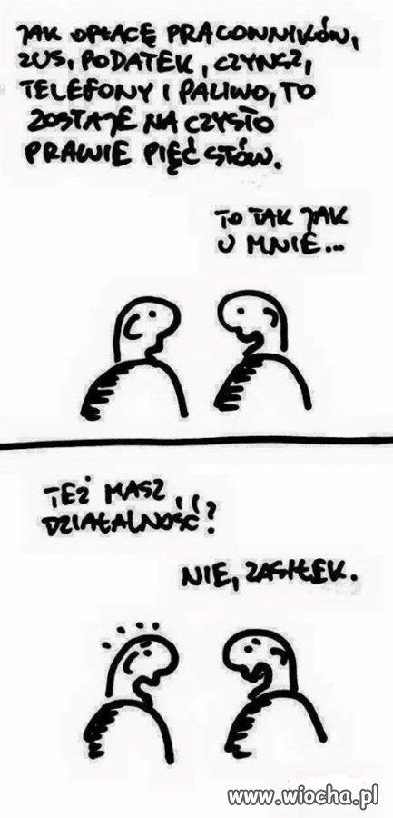 Polskie realia...