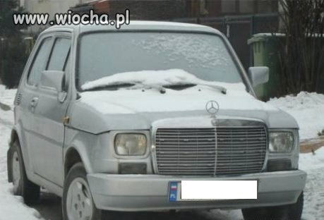 Mercedes 126p