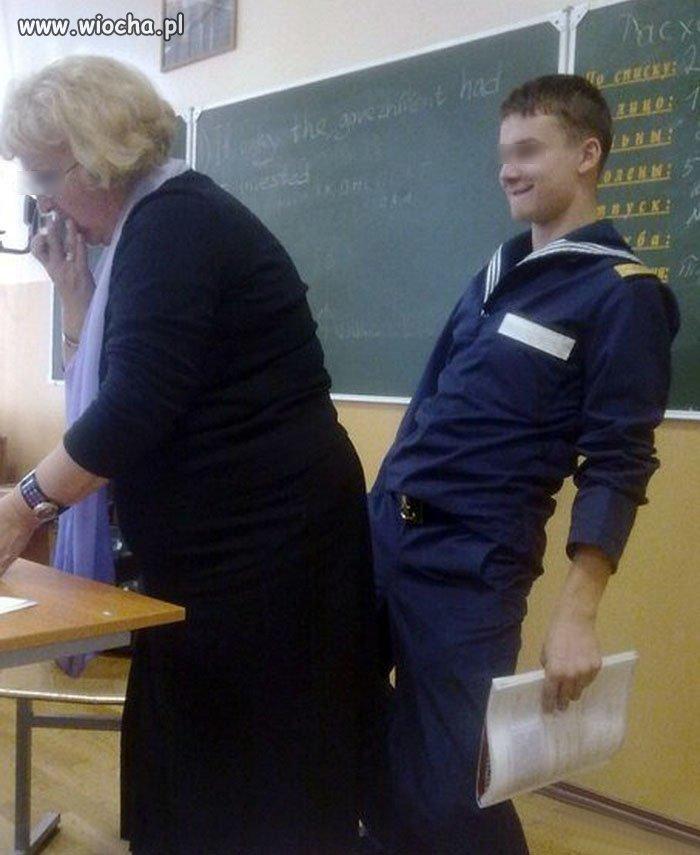 Tymczasem w klasie...