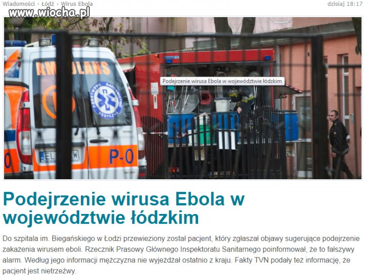 Ebola po Polsku