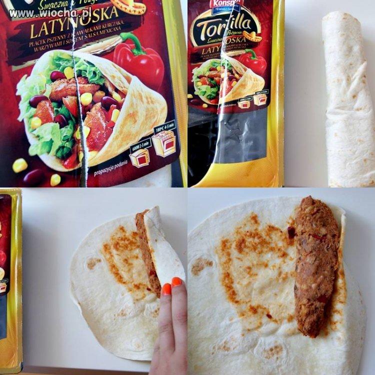 Tortilla SMACZNA (!) i POŻYWNA (!)