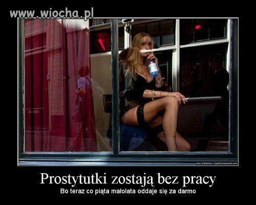Prostytutki bez pracy ...