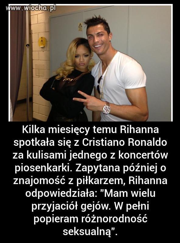 Rihanna i jej pogląd na temat Cristiano.