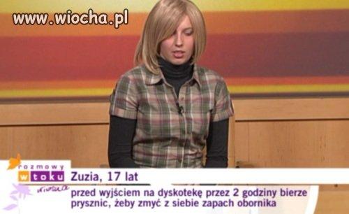 Zuzia, 17 lat