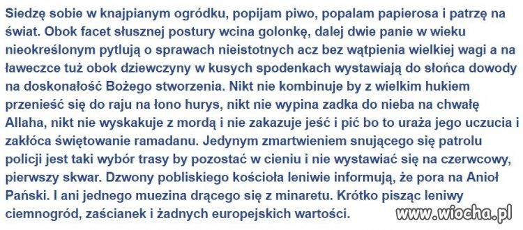 Polska w jednym tekście
