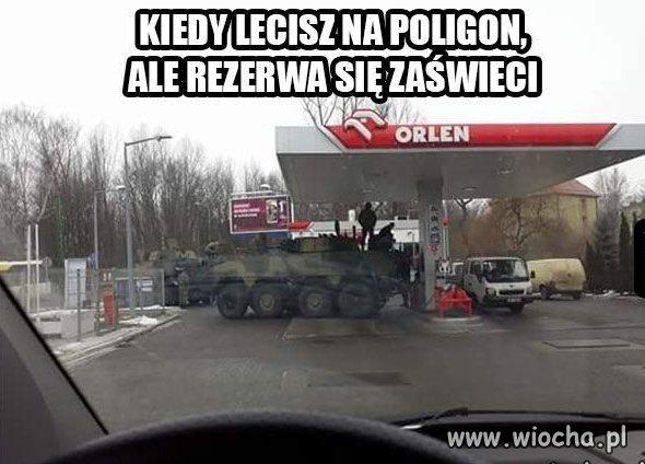 Kiedy zabraknie paliwa