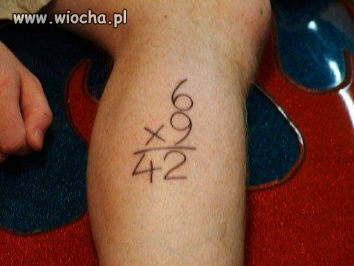 Matematyka si� k�ania