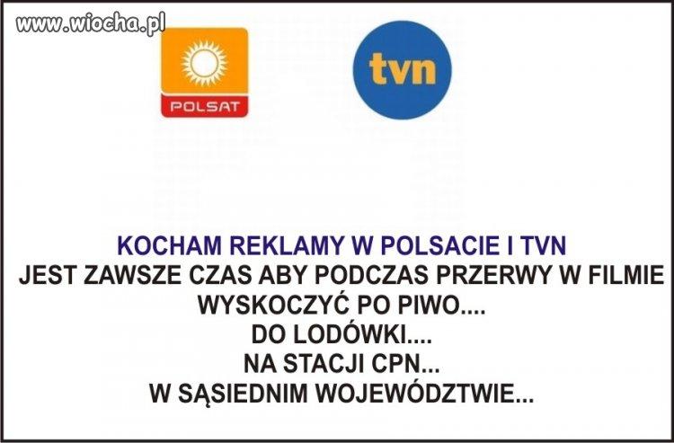 Kochamy TVN... POLSAT...
