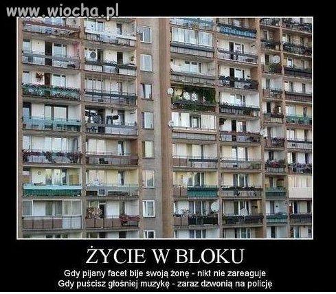 Życie w bloku