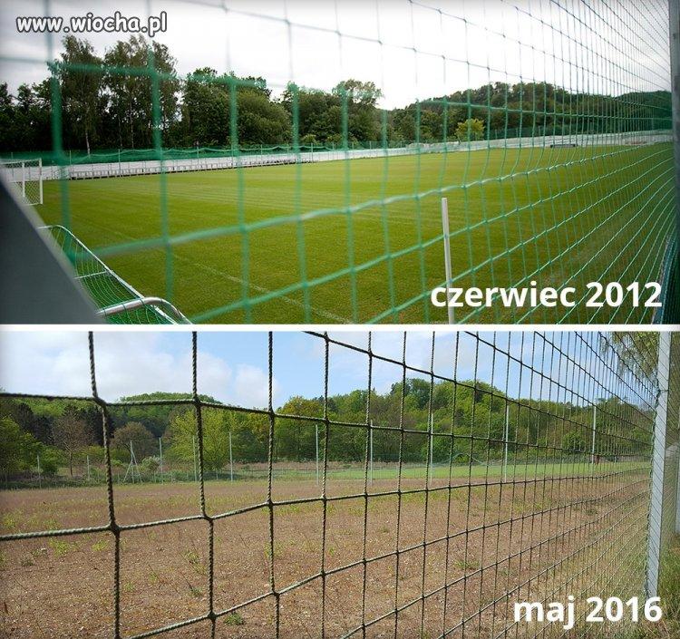 Euro 2012 Boisko w Oliwie po Niemcach w prezencie.
