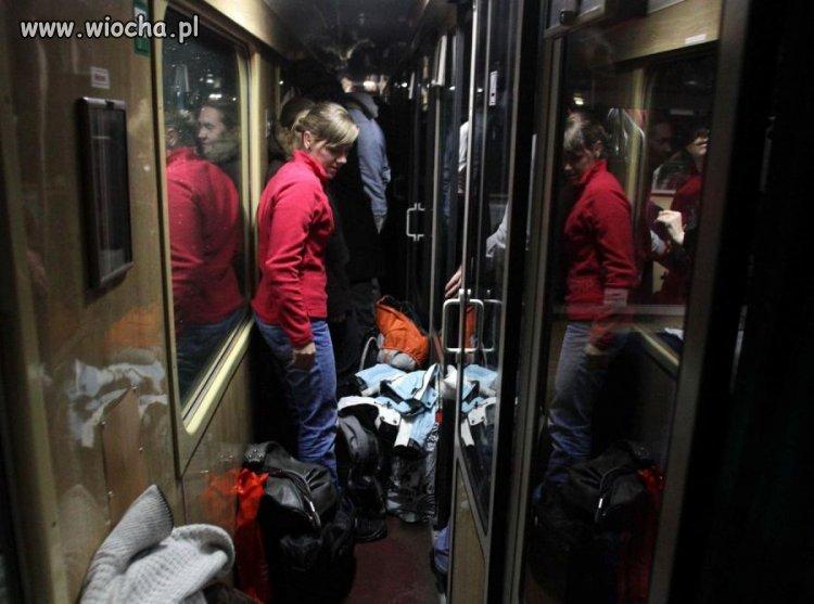 Znowu PKP obiecuje że nie będzie tłoku w pociągach