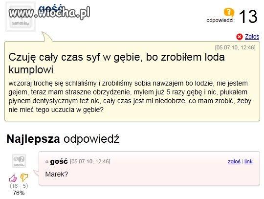 Marek?