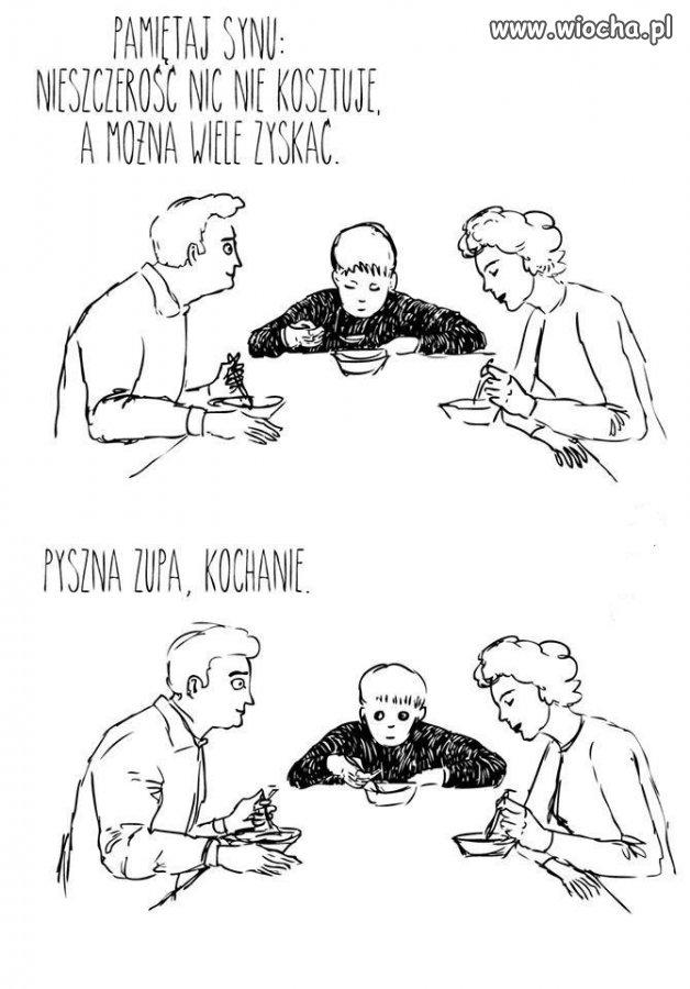 Bo zupa była słona